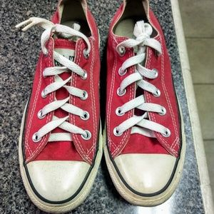 Converse Red All Star Unisex Sneakers